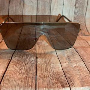 Fashion Nova Lose Your Cool Silver Sunglasses NEW